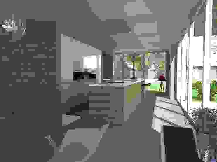 keuken als verlengstuk van Studio FLORIS Modern