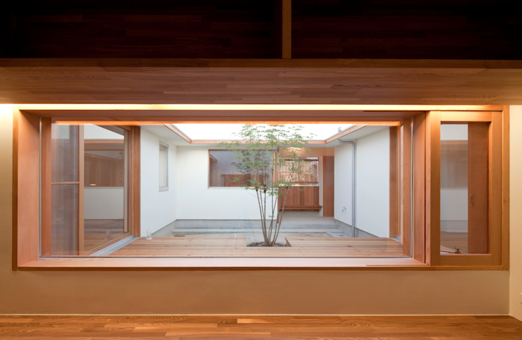 by 松原建築計画 / Matsubara Architect Design Office Scandinavian Wood Wood effect