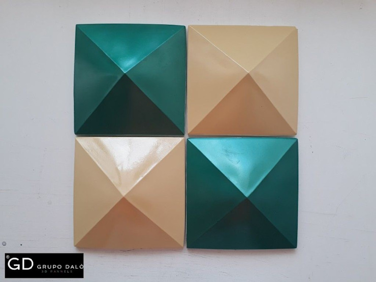 Modelo Cuadrado Piramidal Anexos de estilo moderno de GRUPO DALÒ Moderno