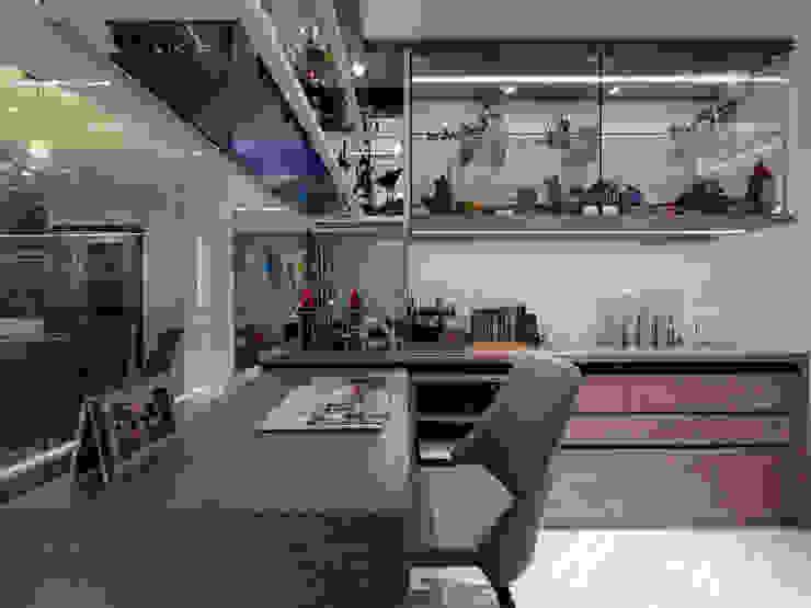 多功能房-移動書桌 根據 你你空間設計 北歐風