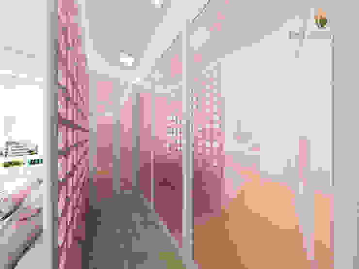 iost Arquitetura e Interiores Modern dressing room MDF Pink