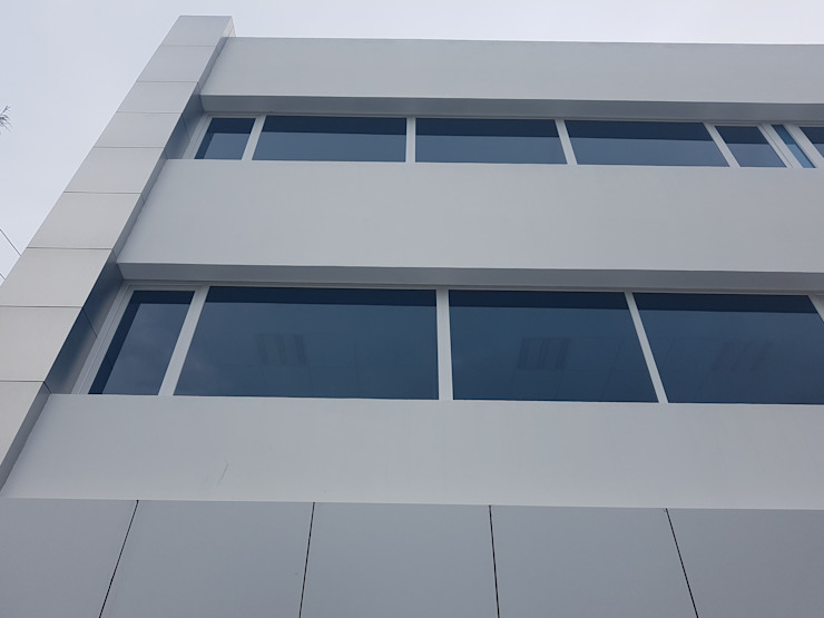 Ventanamex Office buildings Plastic White