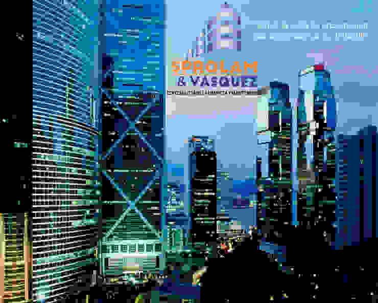 SPROLAM¬VASQUEZ Industrial style office buildings