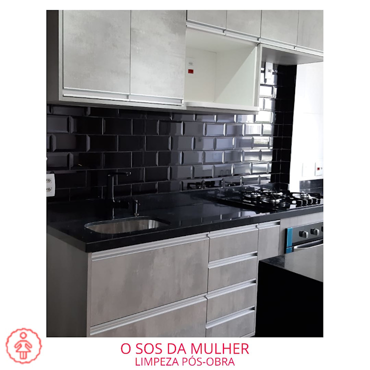O SOS DA MULHER Cocinas de estilo moderno