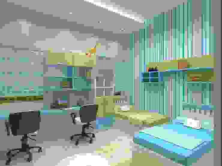 Annanagar villa RESIDENCE INTERIORS Modern nursery/kids room