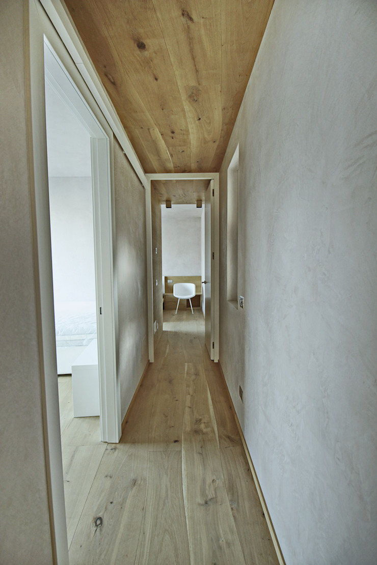 More Floors Per Forest Bolefloor Ingresso, Corridoio & Scale in stile moderno