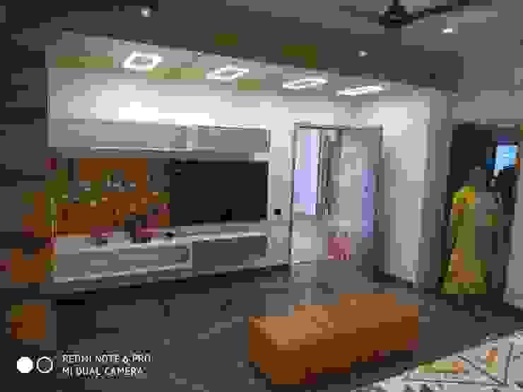 Shagun Jyoti 'A' DESIGN ASSOCIATES Modern media room