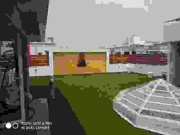 Shagun Jyoti 'A' DESIGN ASSOCIATES Modern balcony, veranda & terrace