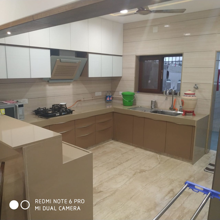 Jignesh Kumar 'A' DESIGN ASSOCIATES Modern kitchen