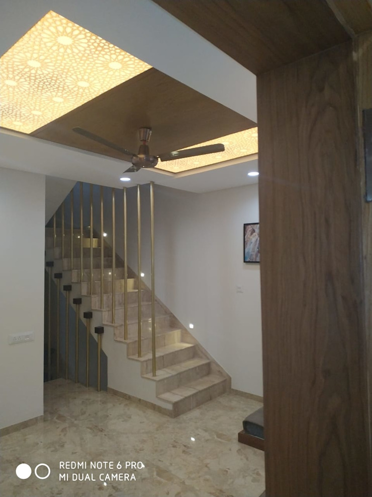 Jignesh Kumar 'A' DESIGN ASSOCIATES Stairs