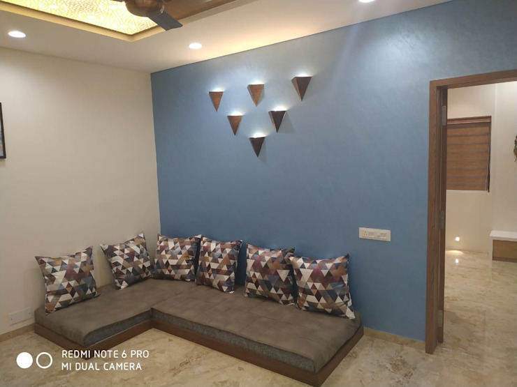 Jignesh Kumar 'A' DESIGN ASSOCIATES Modern media room