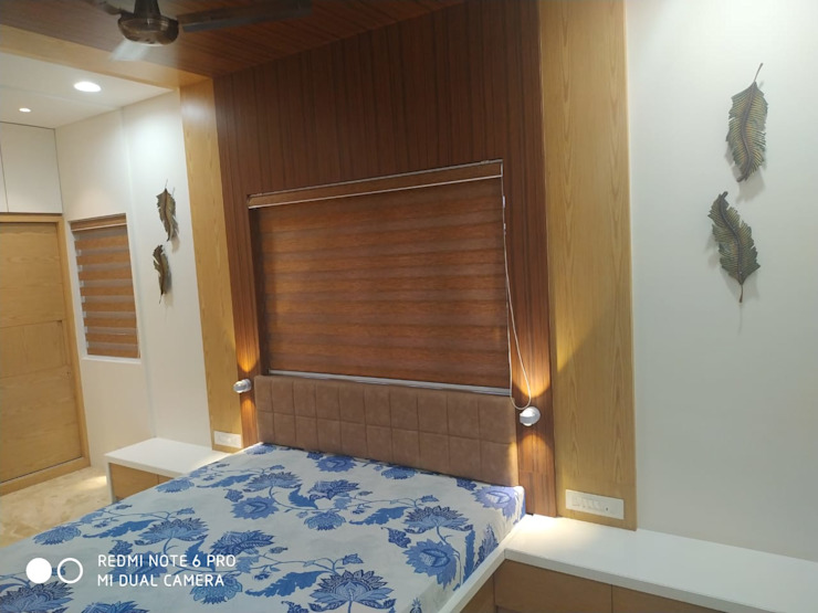 Jignesh Kumar 'A' DESIGN ASSOCIATES Modern style bedroom