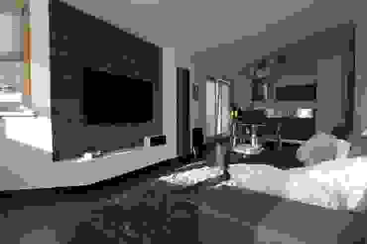 Appartamento in montagna TREZZI INTERNI SNC DI TREZZI FAUSTO, FRANCESCO E DARIO Soggiorno moderno