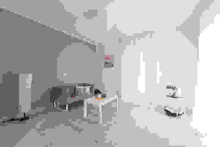 home staging Home-details Soggiorno moderno Ceramica Blu
