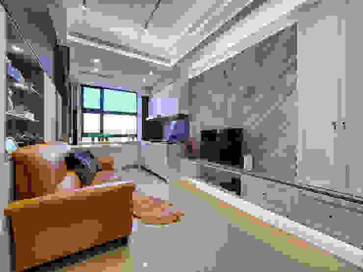 客廳 现代客厅設計點子、靈感 & 圖片 根據 你你空間設計 現代風