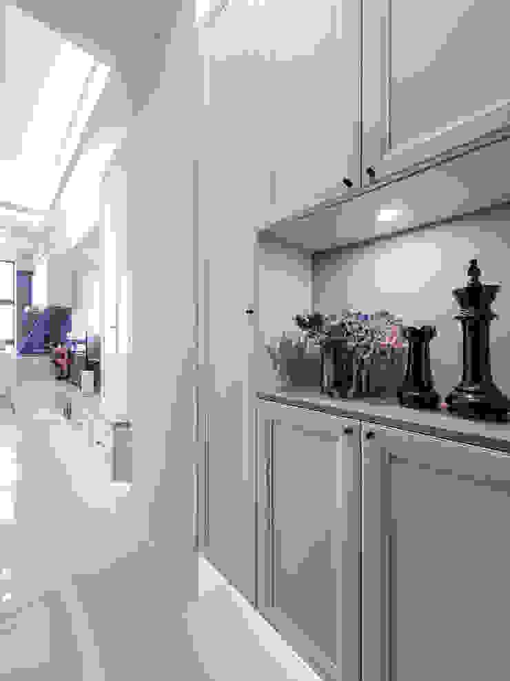 玄關 現代風玄關、走廊與階梯 根據 你你空間設計 現代風