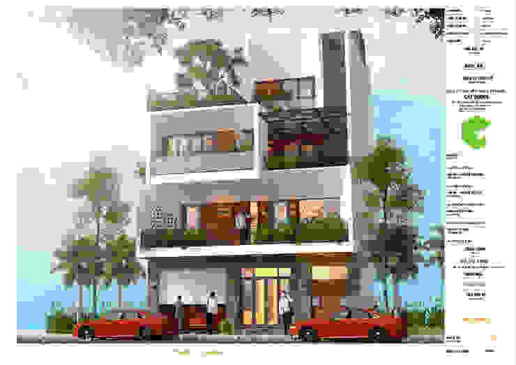 Công Ty TNHH Kiến Trúc Và Xây Dựng Cát Dương Modern hotels Reinforced concrete White