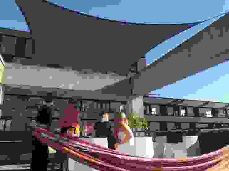 Zonnedoek van ZONZ sunsails Modern Kunststof