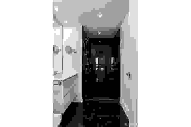 Loema Reformas Integrales Madrid Minimalist style bathroom Marble Black