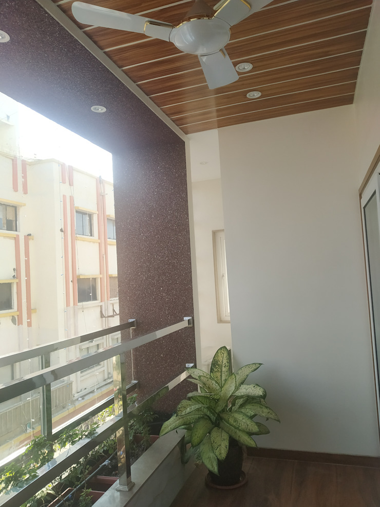 Krishbhai's Completed Project 'A' DESIGN ASSOCIATES Balcony