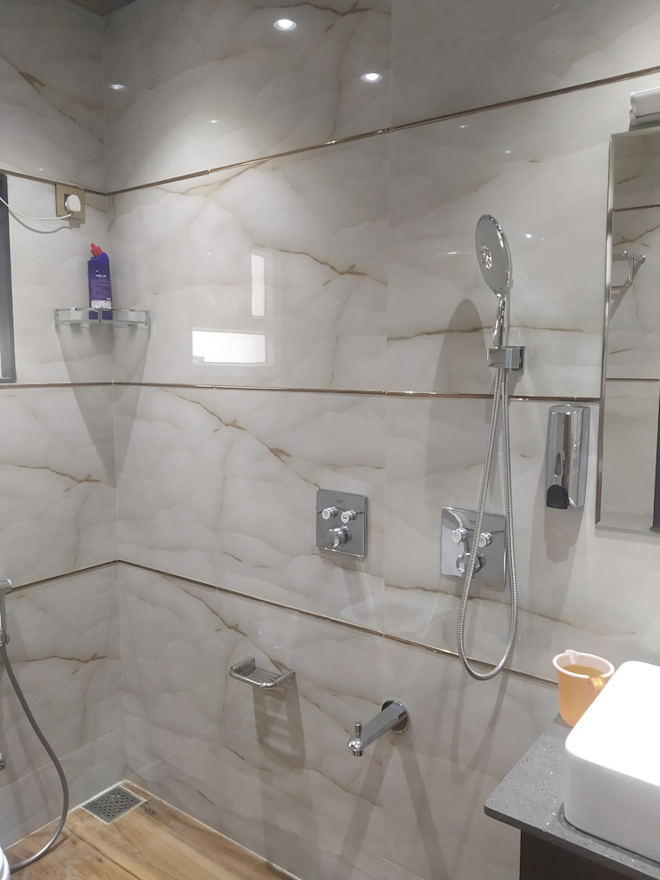 Krishbhai's Completed Project 'A' DESIGN ASSOCIATES Modern bathroom