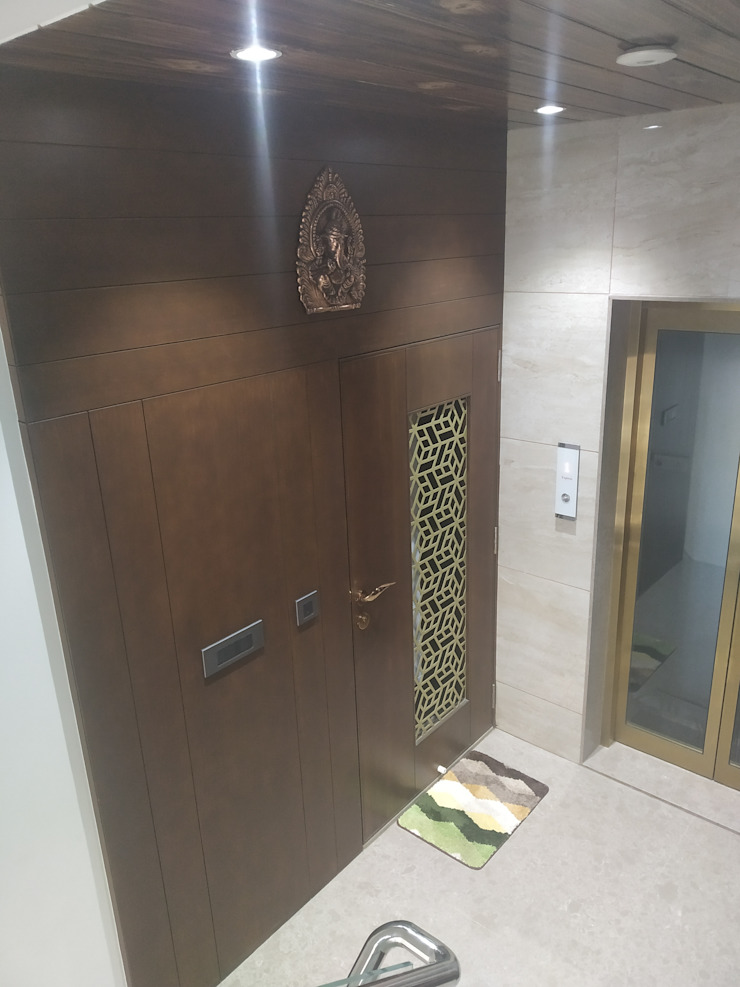 Krishbhai's Completed Project 'A' DESIGN ASSOCIATES Modern style doors