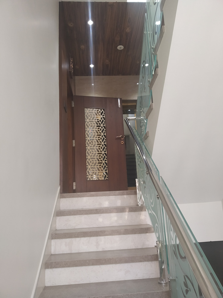 Krishbhai's Completed Project 'A' DESIGN ASSOCIATES Stairs