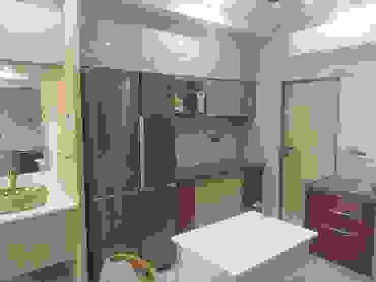Krishbhai's Completed Project 'A' DESIGN ASSOCIATES Modern kitchen