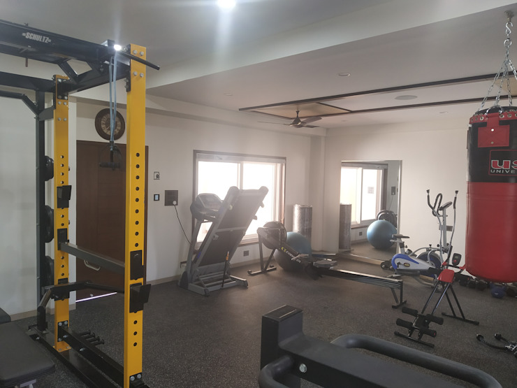 Krishbhai's Completed Project 'A' DESIGN ASSOCIATES Modern gym