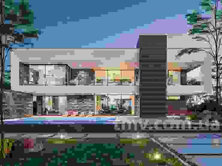 Проект дома в стиле хай-тек TMV 1 от TMV Architecture company