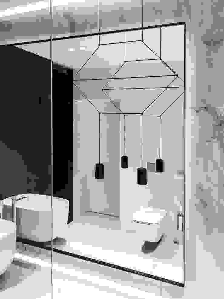 Umywalka nablatowa Cristalstone Skandynawska łazienka od Luxum Skandynawski Kompozyt drewna i tworzywa sztucznego