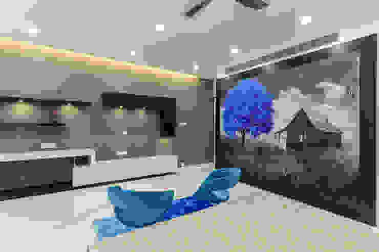 Interior at Sankeshwar, Karnataka A B Design Studio Modern style bedroom