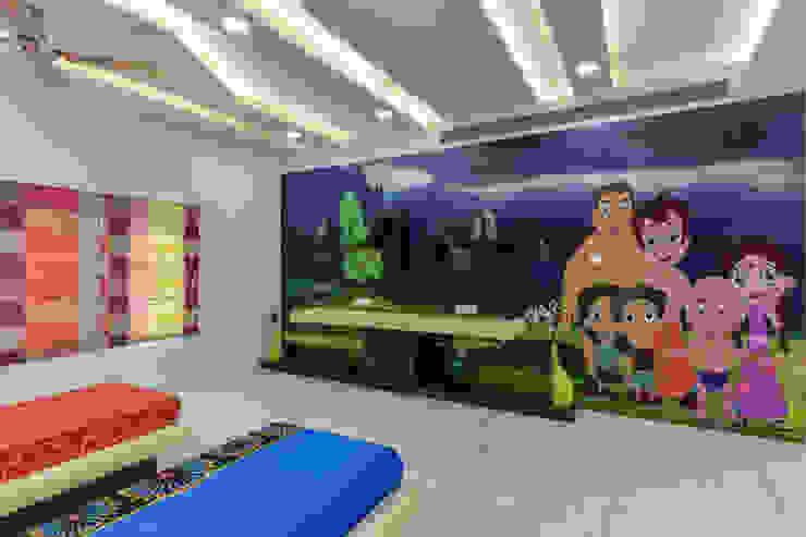Interior at Sankeshwar, Karnataka A B Design Studio Eclectic style bedroom