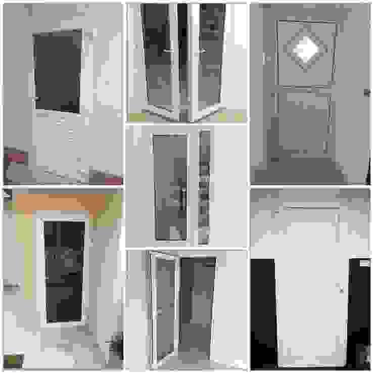 ผลิต และ (ติดตั้ง) ประตู – หน้าต่าง ยูพีวีซี uPVC พัทยา ชลบุรี ระยอง: คลาสสิก  โดย ร้าน  ชัยดล ยูพีวีซี พัทยา, คลาสสิค พลาสติก