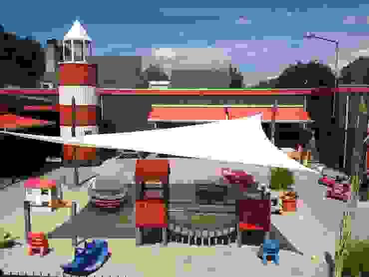 ZONZ sunsails Modern schools Plastic White