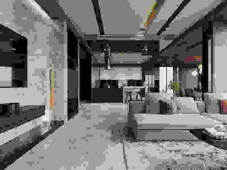Biệt thự Mỹ Thái, Phú Mỹ Hưng: hiện đại  by Công ty TNHH xây dựng và đầu tư Thiên Phố, Hiện đại Gỗ Wood effect