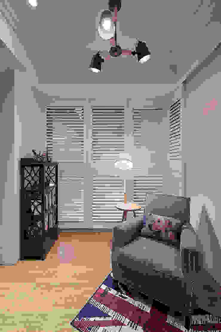 青埔-輕奢美式流行風 根據 趙玲室內設計 鄉村風