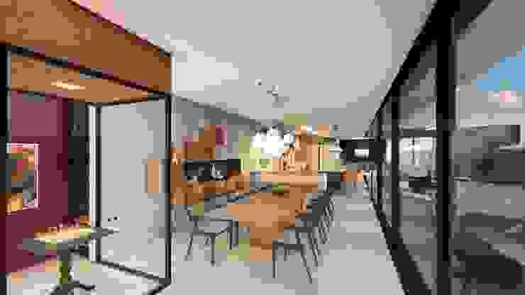 Studio Ideação Їдальня Дерево