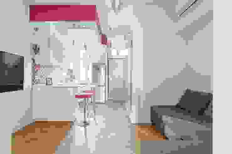 Cuore di Porpora Cucina minimalista di Atelier M Minimalista