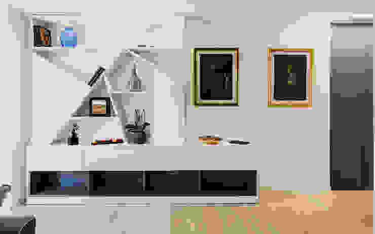Annalisa Carli Stairs Wood White