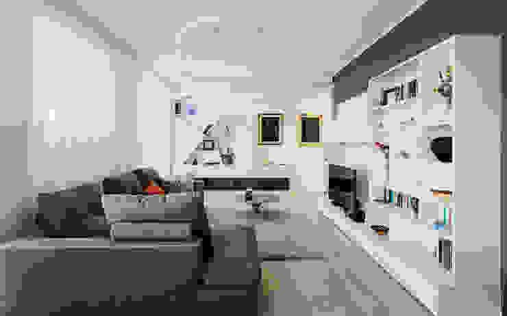 Annalisa Carli Modern living room Wood White