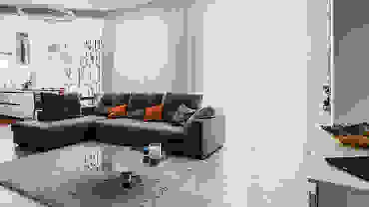 Annalisa Carli Modern living room Wood Grey