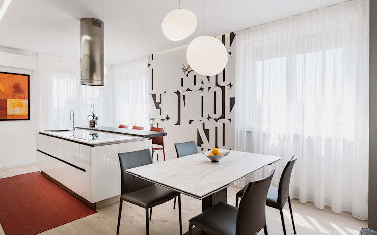 Annalisa Carli Built-in kitchens Ceramic Beige