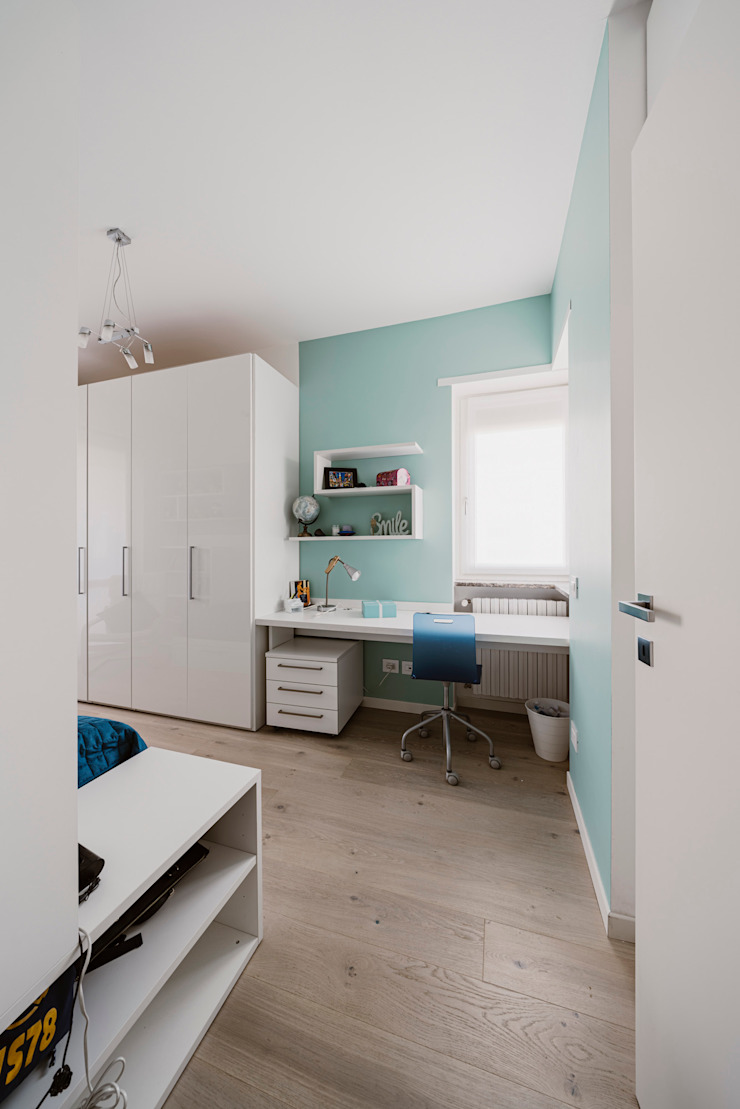 Annalisa Carli Small bedroom Wood Beige