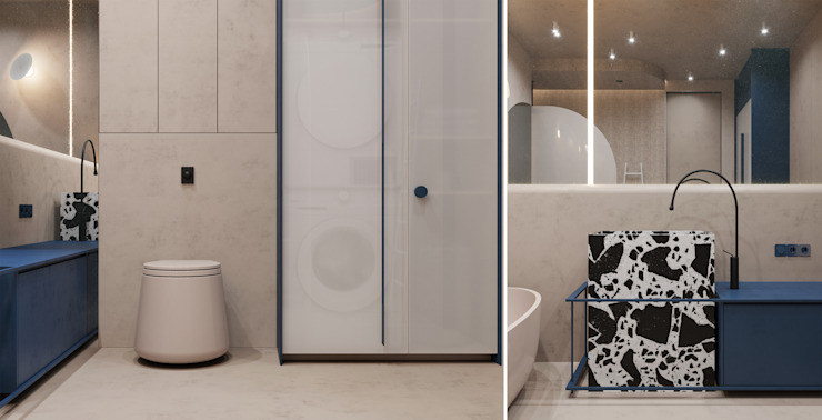 he.d group Minimalist style bathroom