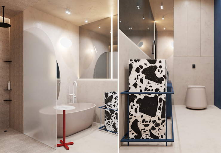 he.d group Salle de bain minimaliste