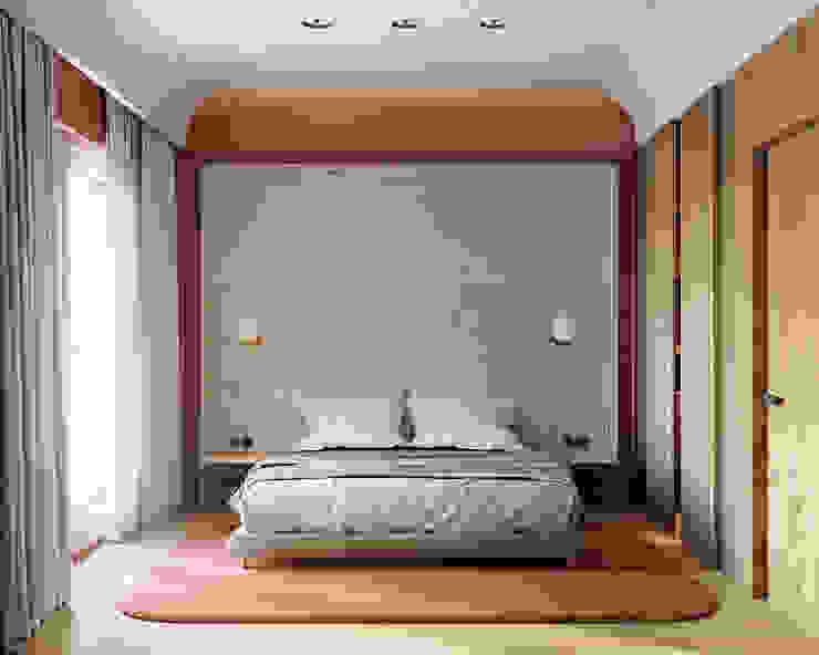 Minimalist bedroom by he.d group Minimalist