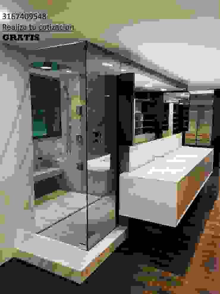 Divisiones de baño de VIDTEMP Moderno Vidrio