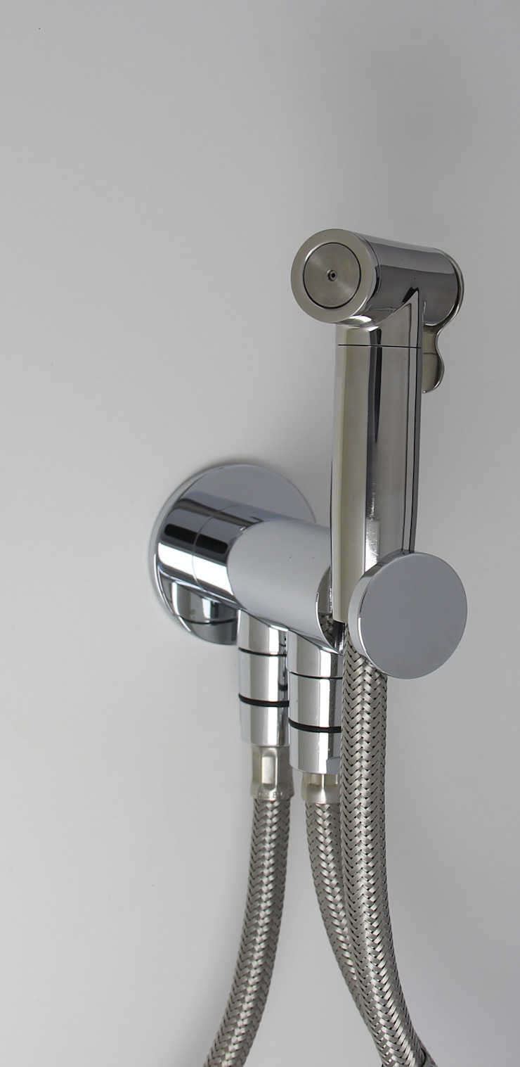 Idroscopino mod. Mercurio Jet BE Automatic ARVAG SRL Bagno minimalista Metallo Metallizzato/Argento