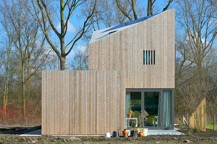 JagerJanssen architecten BNA 現代房屋設計點子、靈感 & 圖片